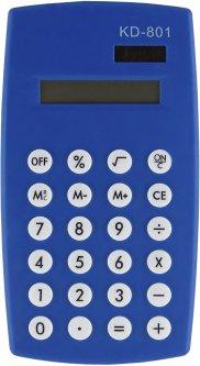 Калькулятор электронный KLERK 8-разрядный Синий (Я17899_KD-801_синий)
