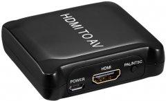 Конвертер PowerPlant HDCAV02-M HDMI - AV (CA911486)
