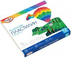 Пластилин Гамма Классический 12 цветов 240 г (281033)