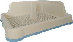 Туалет-рамка для собак под пеленку с сеткой столбиком для кобеля Animall М 48.5x40.6х15 см P 962-А Голубой (2000981180331)