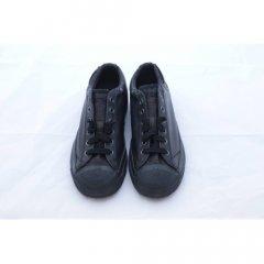 Кеди Diesel Black Textile розмір 37 устілка 24 см чорний (SW-0086)