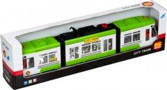 Городской трамвай Big Motors 1258-1 Зеленый (4812501116595-1)