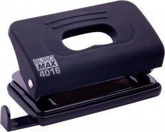 Дырокол пластиковый Buromax Rubber Touch 10 листов Черный (BM.4016-01)