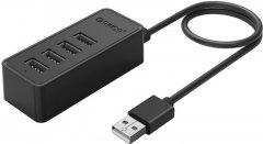 USB-хаб Orico W5P-U2-030-BK-PRO USB 2.0 4 порта Black (CA911424)