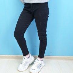 Джинси для дівчинки Cool Finish (262-2тем) Розмір 11, 146 см Чорний