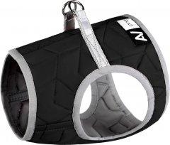 Шлея Collar мягкая AiryVest ONE XS1 24-27 см Черный (29371)