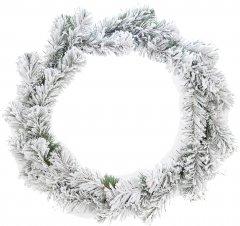 """Рождественский венок Новогодько (YES! Fun) """"Сказка"""" d-30 см Заснеженный (903841)"""