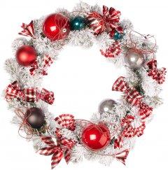 """Рождественский венок Новогодько (YES! Fun) с декором """"Конфетти"""" d-35 см (904389)"""