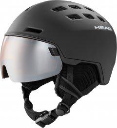 Шлем горнолыжный HEAD Radar + SL 323250 XL/XXL Black (724794248911)