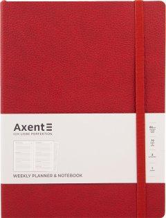 Еженедельник недатированный Axent Partner Soft L 190 х 250 96 л Красный (8605-21-06-A)