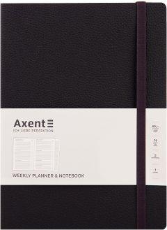 Еженедельник недатированный Axent Partner Soft L 190 х 250 96 л Черный (8605-21-01-A)