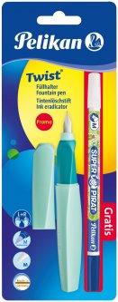 Ручка перьевая Pelikan Twist Neo Mint Мятная с корректором (926071M)