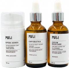 Комплекс Meli Agnes для проблемной, жирной и с признаками старения кожи 3 х 50 мл (ROZ6400100736)