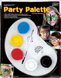 Палитра грима на водной основе Mehron Fantasy FX Party Palette 5 цветов по 7 г (FFX-PAL) (764294500003)