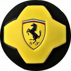 Мяч футбольный Ferrari №5 Желто-черный (F661Y)