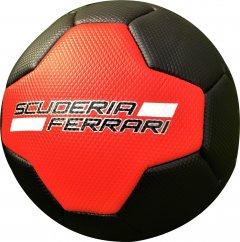 Мяч футбольный Ferrari №2 Красно-черный (F661-2R)