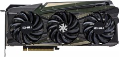 INNO3D PCI-Ex GeForce RTX 3070 iChill X4 8GB GDDR6 (256bit) (1785/14000) (HDMI, 3 x DisplayPort) (C30704-08D6X-1710VA35)