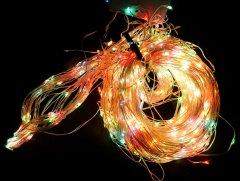 Светодиодная гирлянда Scorpio 200L 10/2 м Разноцветная (756937) (4820007569371)