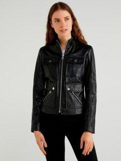 Куртка из искусственной кожи United Colors of Benetton 2ALB53623-100 48 (8032590741911)