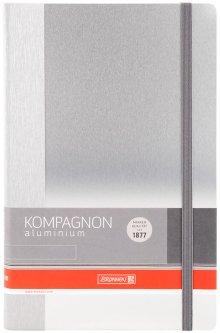 Записная книга Вrunnen Компаньон Aluminium А5 96 листов (10 552 20 05)
