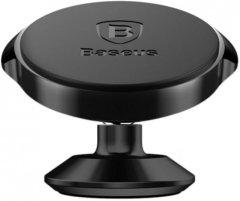 Автодержатель Baseus Small Ears Series Magnetic Suction Bracket Vertical Type SUER-B01 Black (165732)