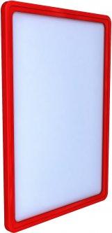 Рамка с карманом-протектором Европос А4 PFPP-A4, Красный (Р1000/06)