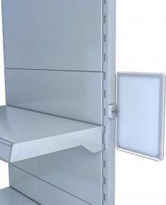 Рамка з протектором Европос А5 с магнитным держателем 90 градусов MAGNET-90+PFPP-A5, Прозрачный (P1008/00)