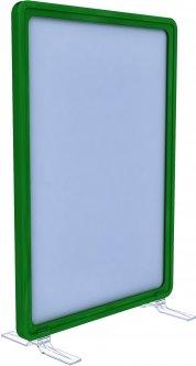 Рамка с карманом-протектором Европос А4 на підставке 90 градусов 2/BASE-90+ PFPP-А4, Зеленый (P1003/07)