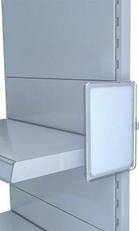 Рамка с карманом-протектором Европос А5 с магнитным держателем 0 градусов MAGNET-0+PFPP-А5, Прозрачный (P1009/00)