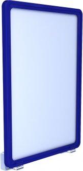 Рамка с карманом-протектором Европос А4 с магнитным держателем 0 градусов 2/MAGNET-0+PFPP-A4, Синий (P1007/28)