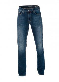 Чоловічі джинси Pierre Cardin з потертістю 30/34 Сині (А:7173/17 М:3178)
