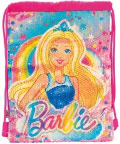 Сумка-мешок детская Yes DB-11 Barbie Sequins Для девочек 0.1 кг 0.957 л (556561)