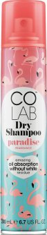 Сухой шампунь Colab Dry Shampoo Paradise 200 мл (5016155128518)