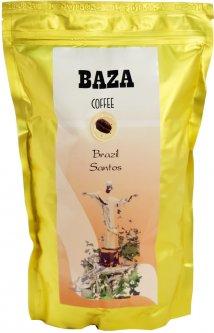 Кофе в зернах Baza Brazil Santos Арабика моносорт 500 г (4820215240055)