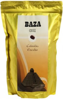Кофе в зернах Baza Colombia Excelso Арабика моносорт 500 г (4820215240116)