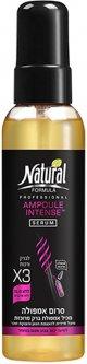 Интенсивная сыворотка Natural Formula для волос с ампулами 145 мл (7290104962875)