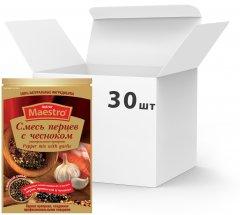 Упаковка приправы Ред Хот Маэстро Смесь перцев с чесноком 25 г х 30 шт (5060140290681)