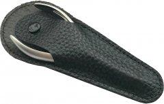 Чехол Zauber-manicure для щипчиков кожаный MS-102B (4004904101029)
