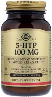 Аминокислота Solgar 5-HTP (Гидрокситриптофан) 100 мг 90 капсул (033984014534)
