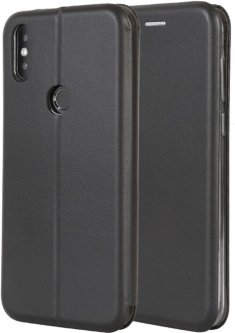 Чехол-книжка Doogee PU leather case для Doogee X90L Black (109886)
