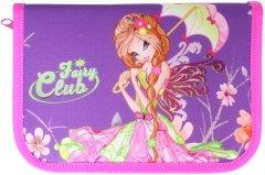 Пенал Class Fairy Club 1 отделение 1 отворот с наполнением (99305/8591662993059)