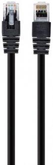 Патч корд Cablexpert PP12-1.5M/BK 1.5 м Черный
