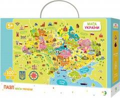 Пазл DoDo Карта Украины на украинском языке 100 элементов (300109) (4820198240080)