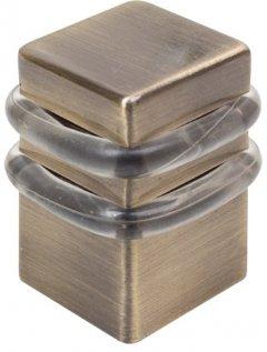 Стопор RDA 1539 AB 34 x 34 x 40 мм Античная латунь (TD39871)