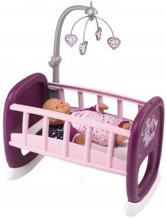 Колыбель Smoby Toys Baby Nurse Прованс с мобилем 47 см (220343) (3032162203439)