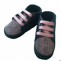 Пінетки Babymove 19 (12 см) Рожевий (2979360115854)