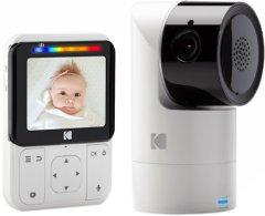 Цифровая видеоняня Kodak C225 HD Wi-fi с родительским блоком (C225000C225) (4895222700120)