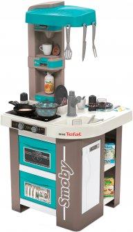 Интерактивная кухня Smoby Toys Тефаль Студио Френч с аксессуарами, эффектом кипения и звуками (311043) (3032163110439)