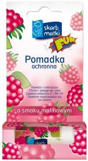Помада Skarb Matki со вкусом малины 6.5 г (5901968019309)