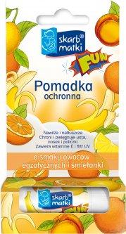 Помада Skarb Matki со вкусом экзотических фруктов и сливок 6.5 г (5901968019613)